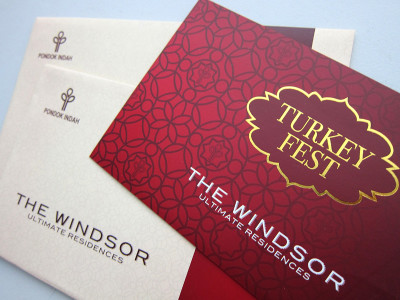 turkey fest windsor designed by 99A